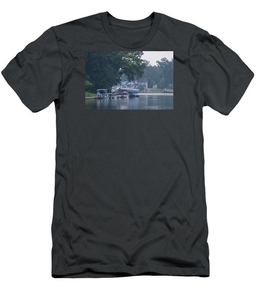 Tranquil River Men's T-Shirt (Athletic Fit)