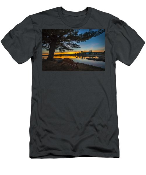 Tranquility At Sunset Men's T-Shirt (Athletic Fit)