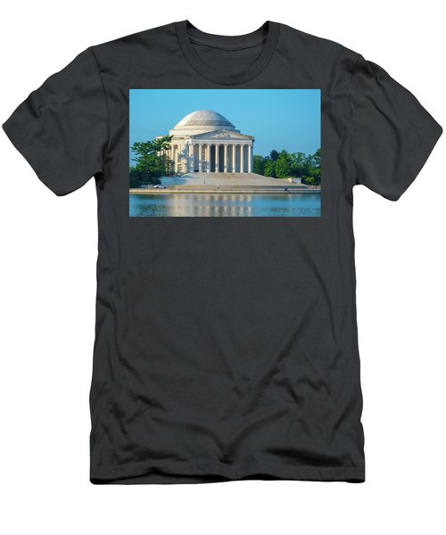 Tranquility At The Jefferson Memorial Men's T-Shirt (Athletic Fit)