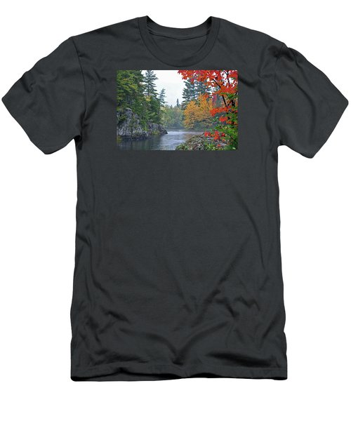 Men's T-Shirt (Slim Fit) featuring the photograph Autumn Tranquility by Glenn Gordon