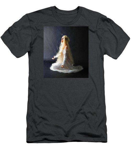 Transcendence One Men's T-Shirt (Slim Fit) by Dave Luebbert