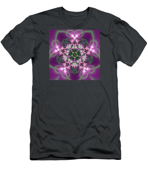Transition Flower 5 Beats Men's T-Shirt (Athletic Fit)