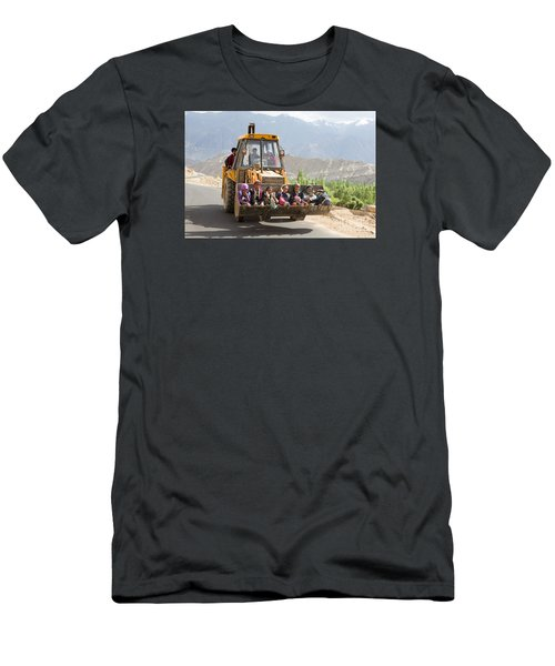 Transport In Ladakh, India Men's T-Shirt (Athletic Fit)
