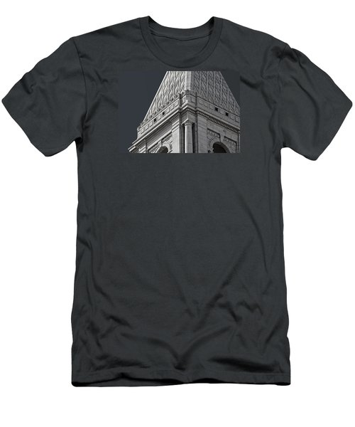 Travelers Tower Summit Men's T-Shirt (Slim Fit) by Phil Cardamone