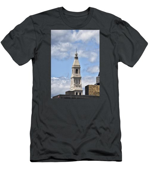 Travelers Tower In Hartford Connecticut Men's T-Shirt (Athletic Fit)