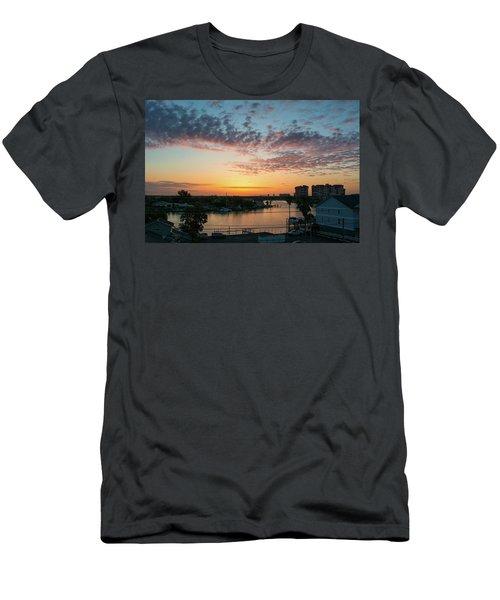 Treasure Island Sunrise Men's T-Shirt (Slim Fit) by RC Pics