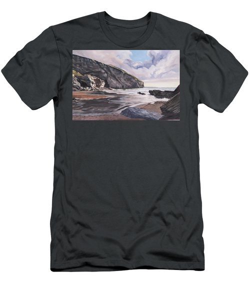Trebarwith Strand Men's T-Shirt (Athletic Fit)