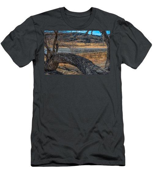 Tree At Elizabeth Lake Men's T-Shirt (Athletic Fit)