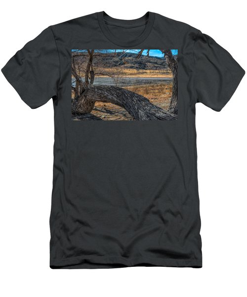 Tree At Elizabeth Lake Men's T-Shirt (Athletic Fit)
