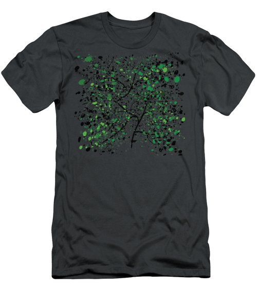 Tree Branches Men's T-Shirt (Athletic Fit)