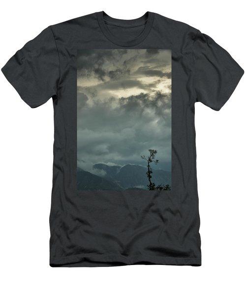Tree. Bright Light Men's T-Shirt (Slim Fit) by Rajiv Chopra