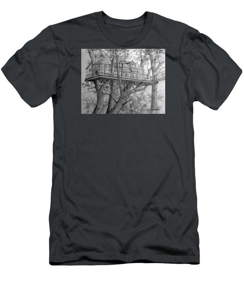 Tree House #4 Men's T-Shirt (Athletic Fit)