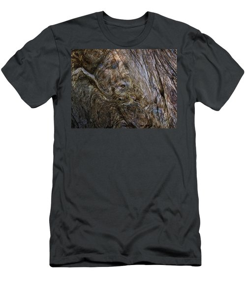 Men's T-Shirt (Slim Fit) featuring the photograph Tree Memories # 19 by Ed Hall