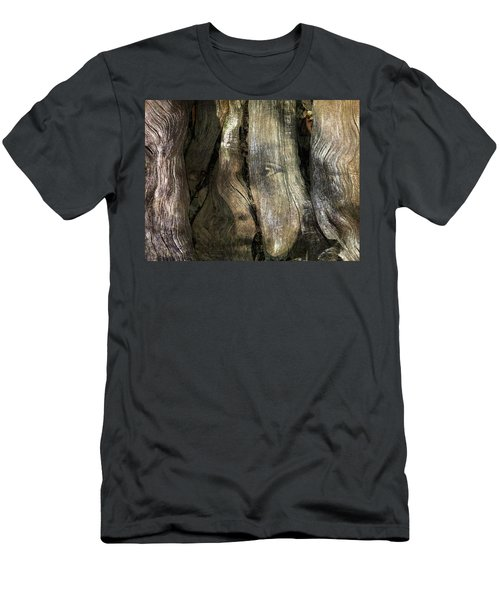 Men's T-Shirt (Slim Fit) featuring the photograph Tree Memories # 24 by Ed Hall
