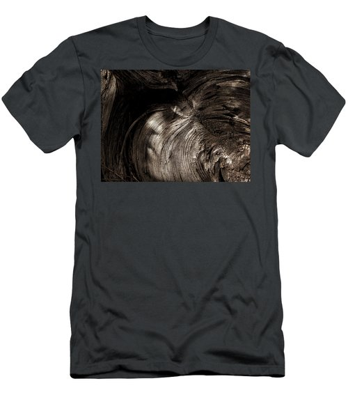 Men's T-Shirt (Slim Fit) featuring the photograph Tree Memories # 31 by Ed Hall