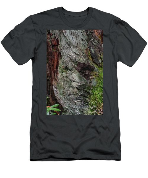 Men's T-Shirt (Slim Fit) featuring the photograph Tree Memories # 38 by Ed Hall