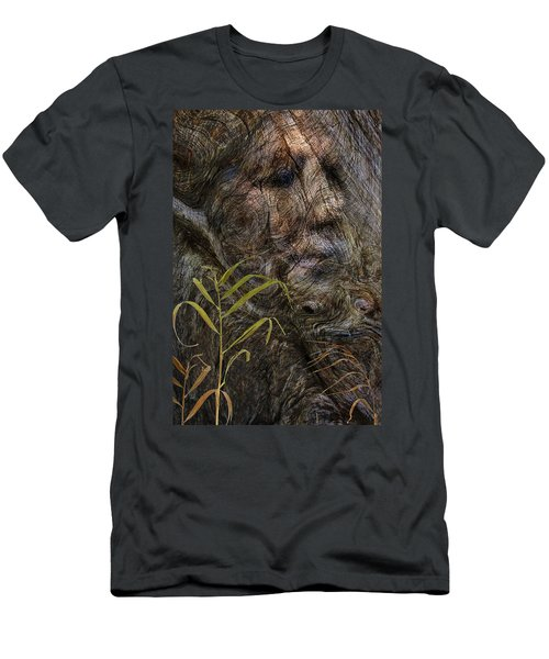 Men's T-Shirt (Slim Fit) featuring the photograph Tree Memories # 39 by Ed Hall