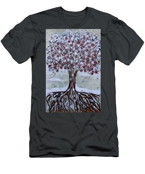 Tree Of Life - Winter Men's T-Shirt (Athletic Fit)