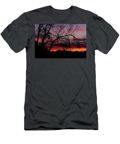 Tree Silhouette Men's T-Shirt (Athletic Fit)