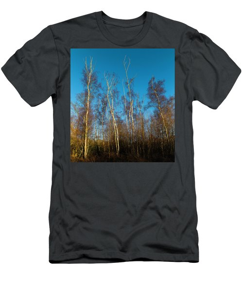 Trees And Blue Sky Men's T-Shirt (Athletic Fit)