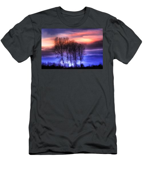 Trees And Twilight Men's T-Shirt (Athletic Fit)