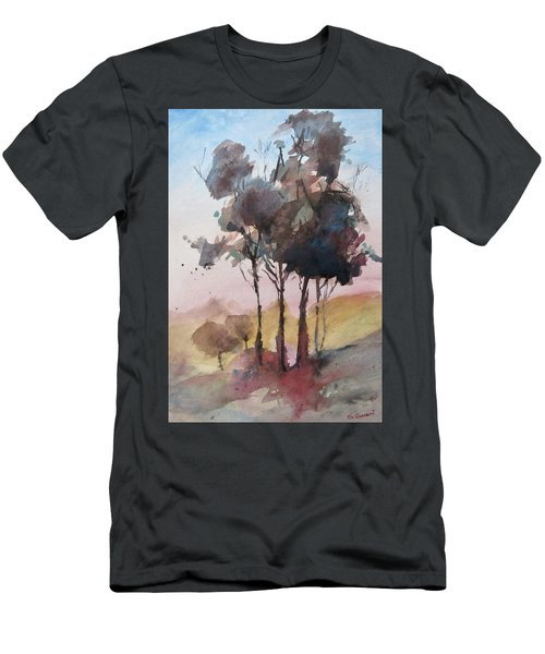 Trees Men's T-Shirt (Slim Fit) by Geni Gorani