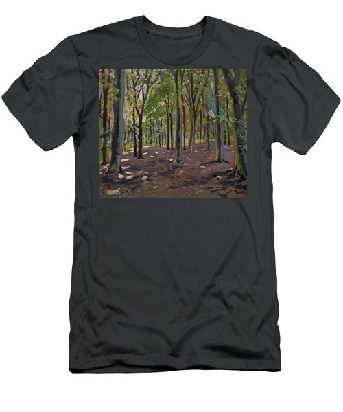 Trees Reeshofbos Men's T-Shirt (Athletic Fit)