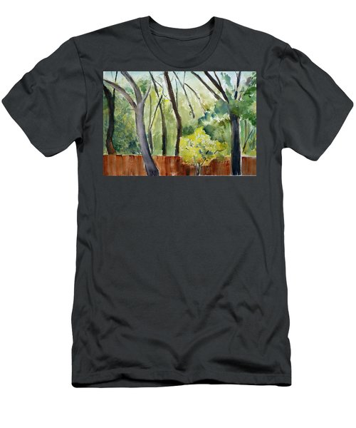 Trees1 Men's T-Shirt (Slim Fit) by Tom Simmons