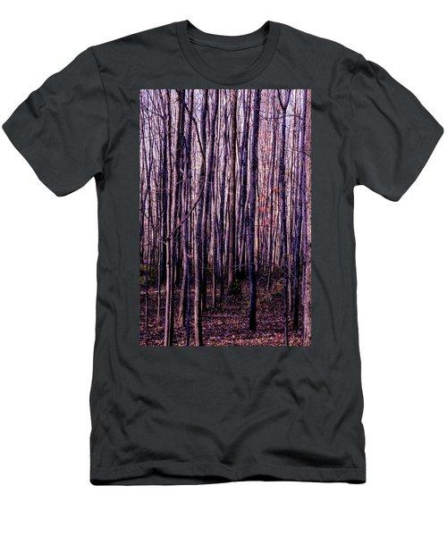 Treez Magenta Men's T-Shirt (Athletic Fit)