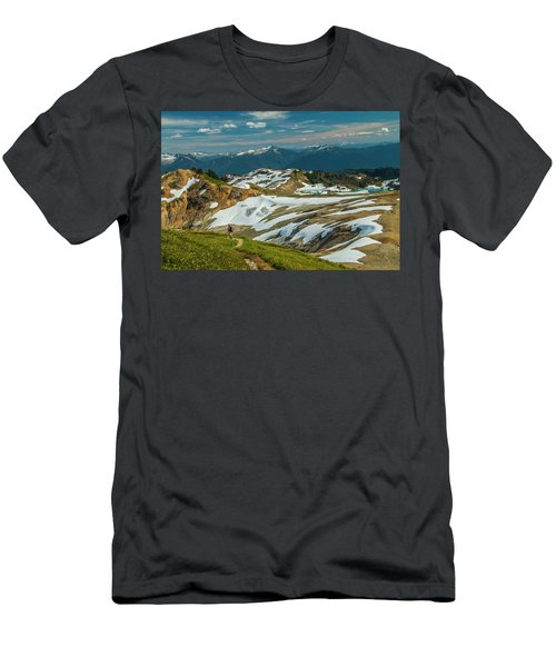 Trekking Ptarmigan Ridge Men's T-Shirt (Athletic Fit)