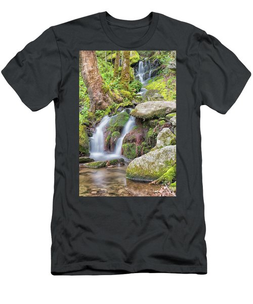 Tremont Road Waterfall Men's T-Shirt (Athletic Fit)