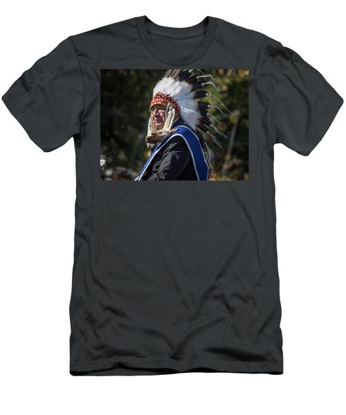Tribal Elder Men's T-Shirt (Athletic Fit)