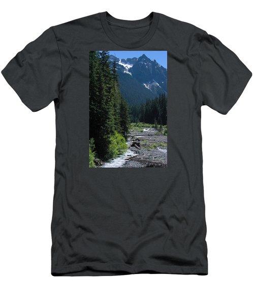 Trickling Men's T-Shirt (Athletic Fit)