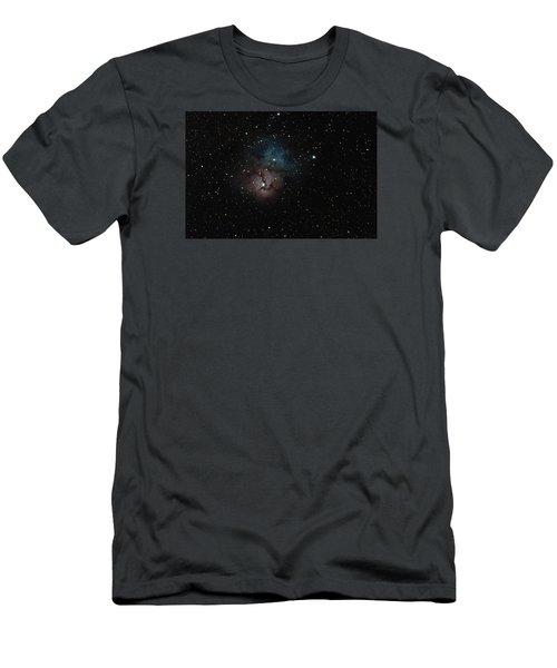 Trifid Nebula Men's T-Shirt (Athletic Fit)