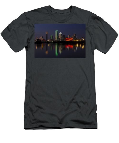 Trinity River Dallas Men's T-Shirt (Athletic Fit)