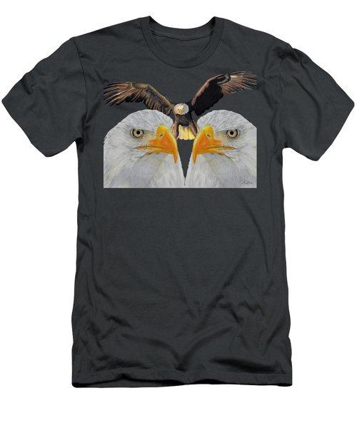 Triple Eagle Men's T-Shirt (Athletic Fit)