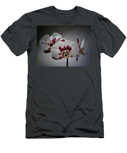 Men's T-Shirt (Slim Fit) featuring the photograph Triplets by Karen Stahlros