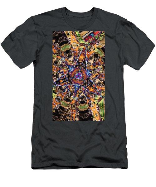 Tristar Men's T-Shirt (Slim Fit) by Ron Bissett