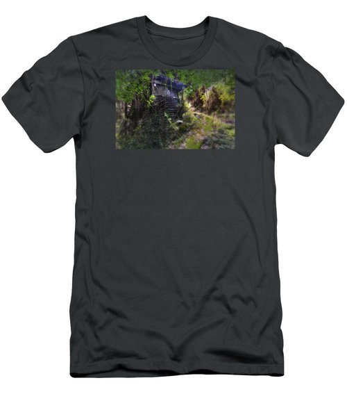 Trolley Bus Into The Jungle Men's T-Shirt (Athletic Fit)
