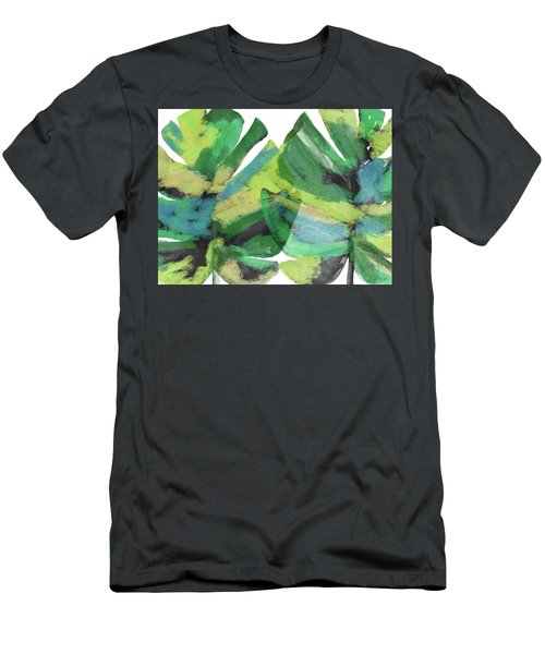 Tropical Dreams 1- Art By Linda Woods Men's T-Shirt (Athletic Fit)