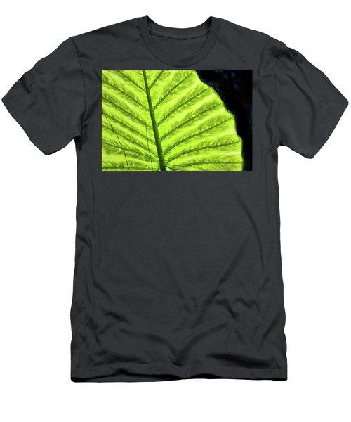 Tropical Leaf Men's T-Shirt (Athletic Fit)