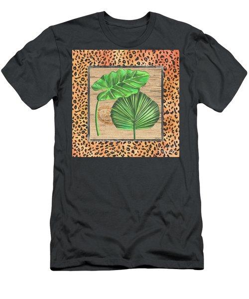 Tropical Palms 1 Men's T-Shirt (Athletic Fit)