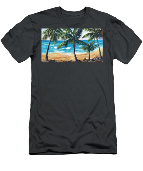 Tropical Palms I Men's T-Shirt (Athletic Fit)