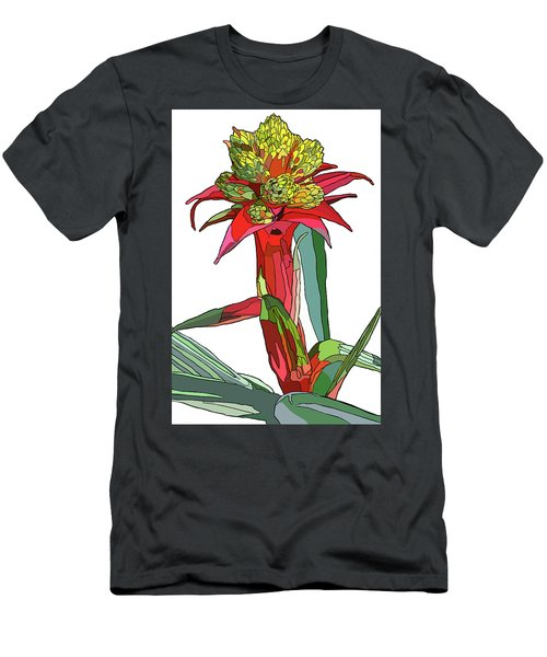 Tropical Reds Men's T-Shirt (Slim Fit) by Jamie Downs