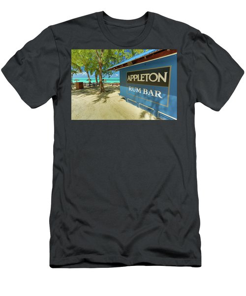 Tropical Rum Bar Men's T-Shirt (Athletic Fit)