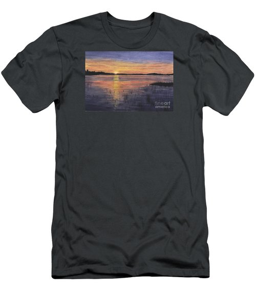 Trout Lake Sunset II Men's T-Shirt (Athletic Fit)