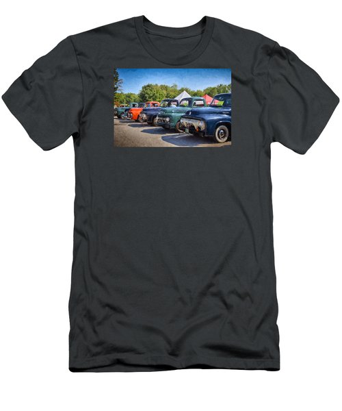 Trucks On Display Men's T-Shirt (Athletic Fit)