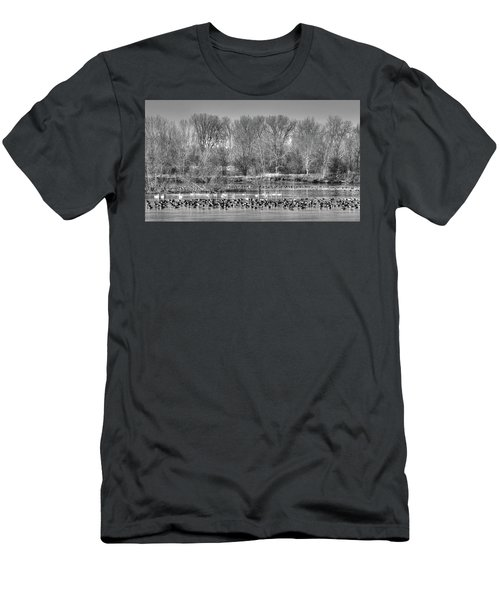 Trumpeters And Canadians In Iowa Men's T-Shirt (Athletic Fit)