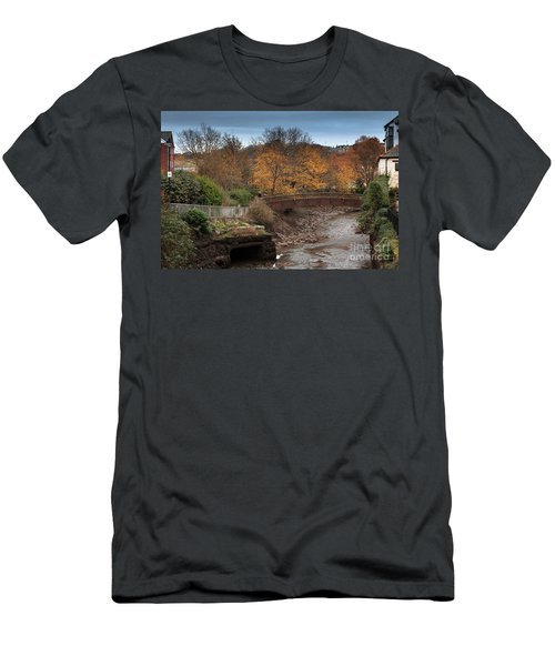Men's T-Shirt (Slim Fit) featuring the photograph Truro River by Brian Roscorla