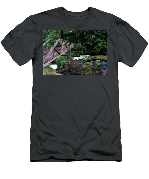 Men's T-Shirt (Slim Fit) featuring the photograph Trussting by Rhys Arithson